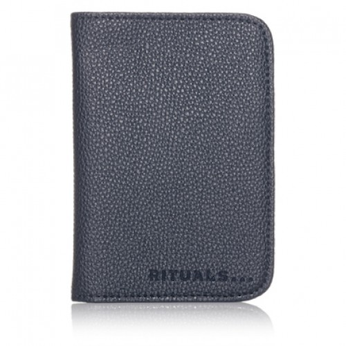 PASSPORT HOLDER - DARK BLUE